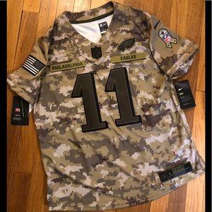 Womens Nike Salute To Service Eagles Carson Wentz